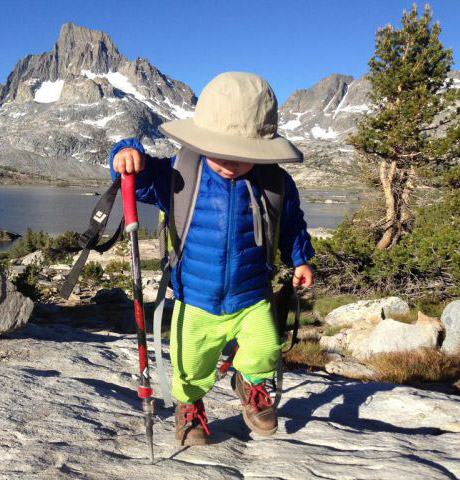 Bodhi Bennett Hiking Toddler