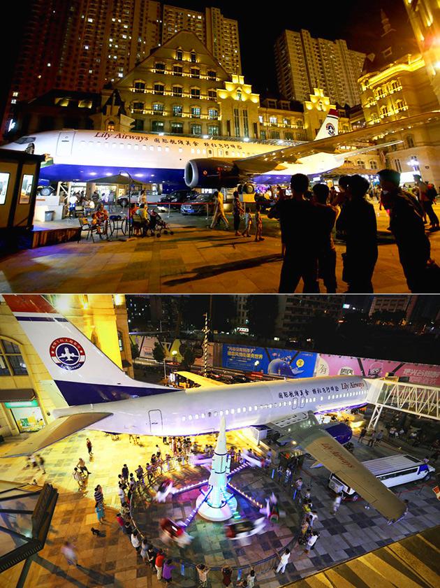 Boeing 737 Restaurant