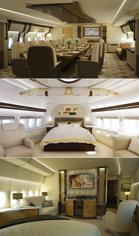 Boeing 747-8 VIP Pictures