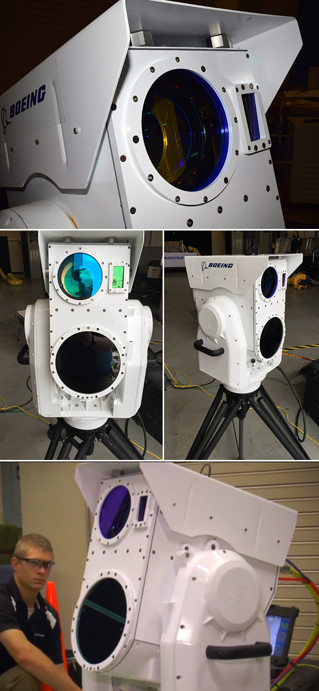 Boeing Compact Laser Weapons System