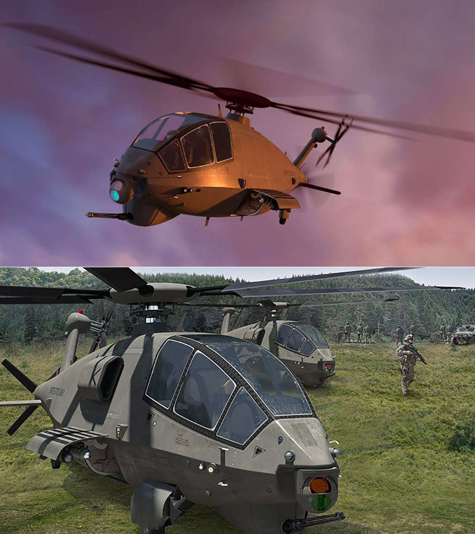 Boeing Future Attack Reconnaissance Attack FARA Aircraft Helicopter