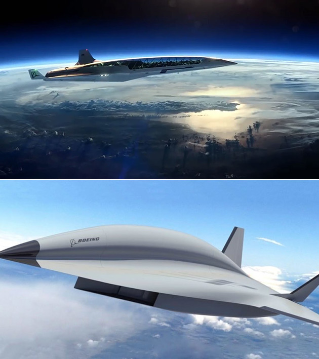 Boeing Hypersonic Plane