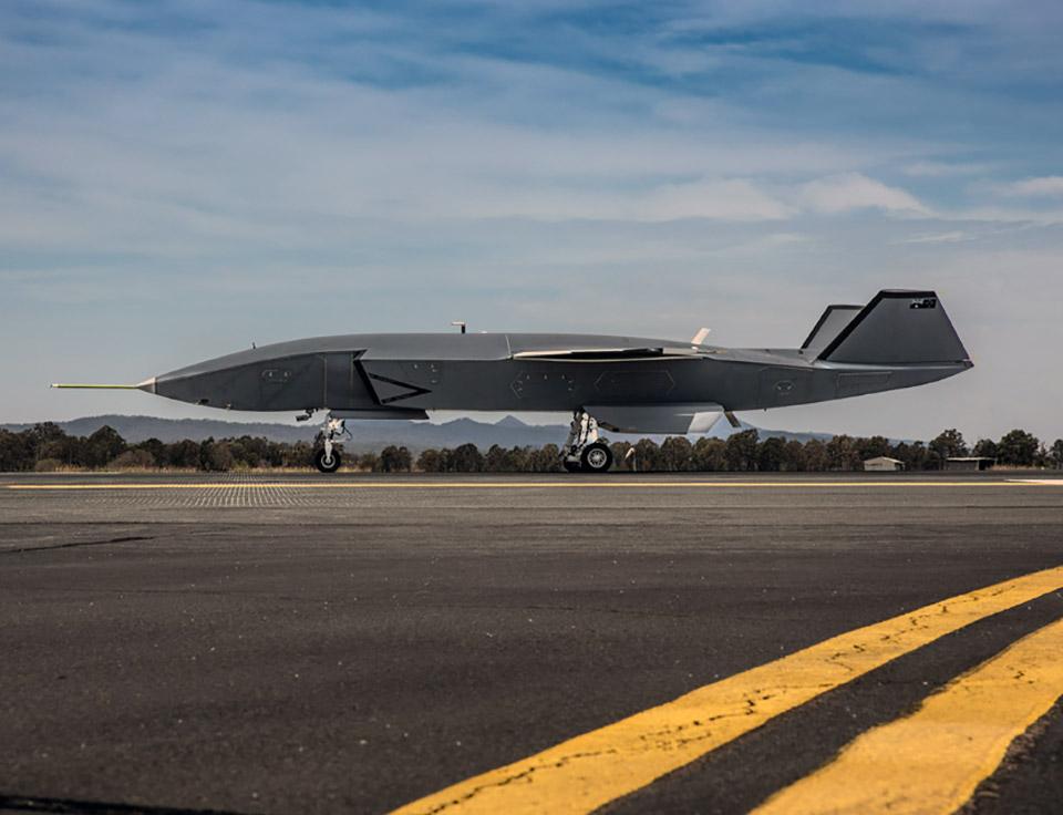 Boeing Loyal Wingman Drone Taxi