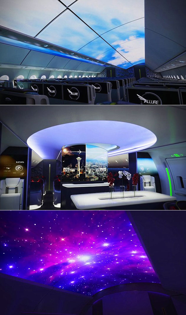 Boeing Projection Cabin