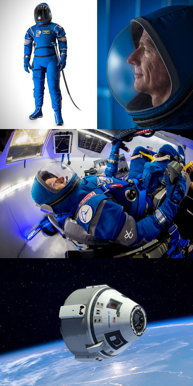 Boeing Starliner Spacesuit