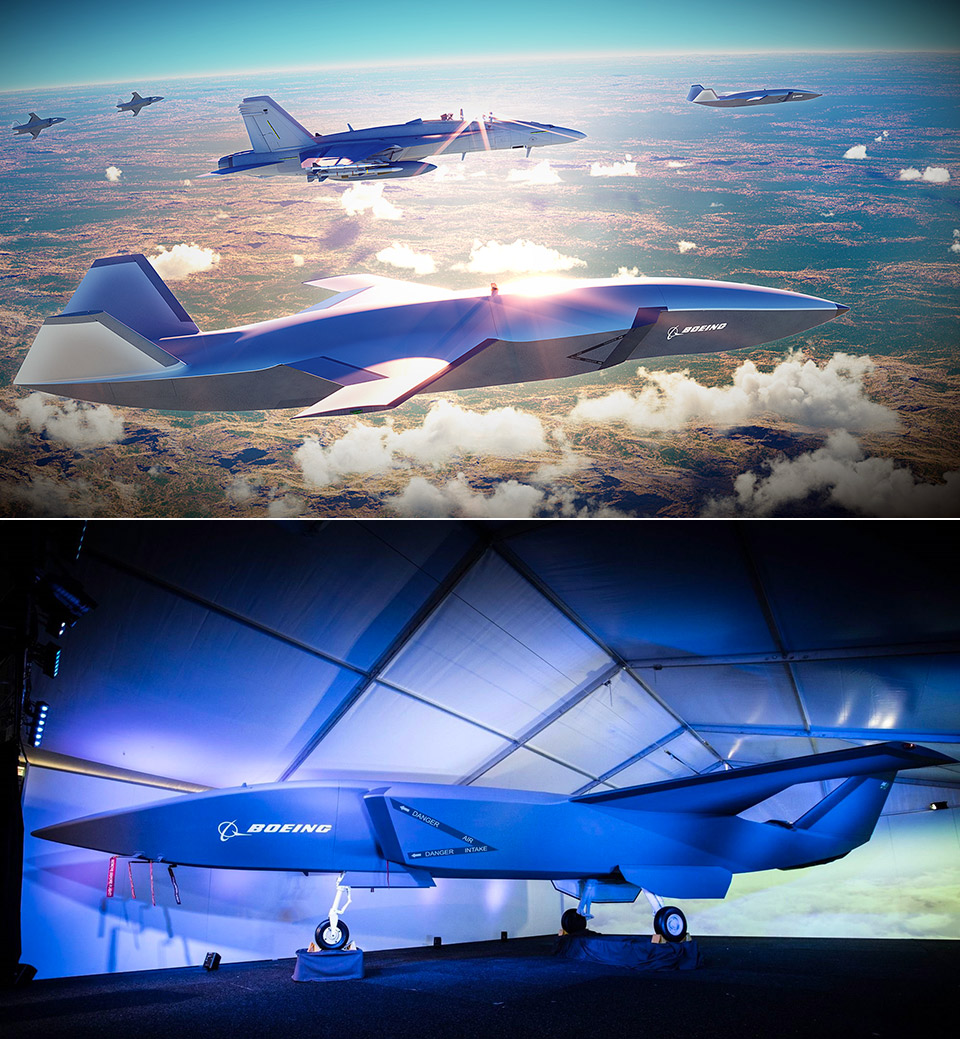 Boeing Wingman Autonomous Fighter Jet