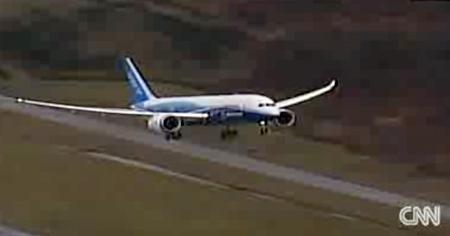 boeing 787 first flight  live