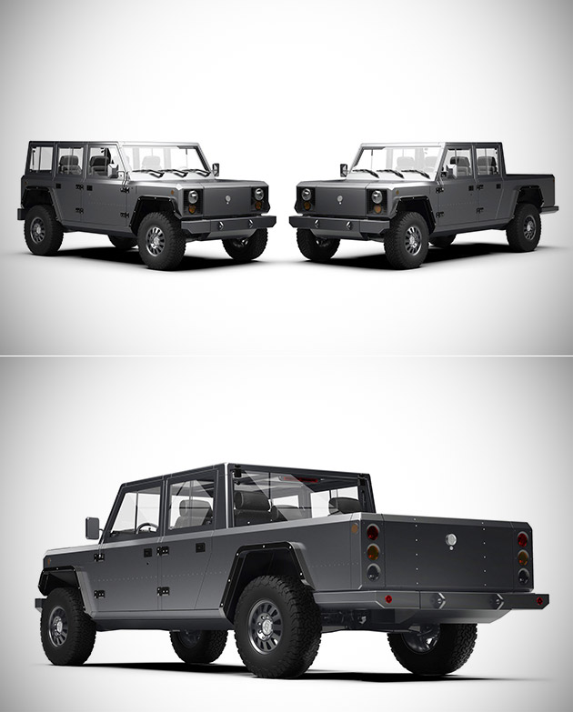 Bollinger B2 Electric Pickup Truck