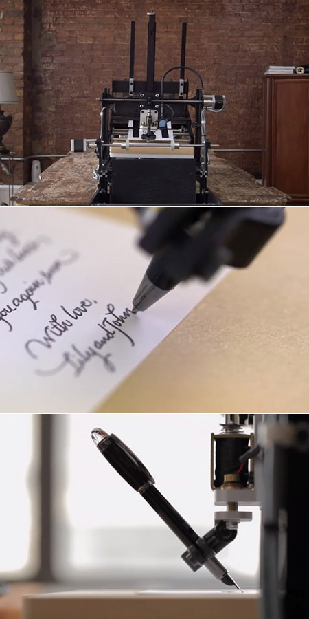 Bond Handwriting Robot