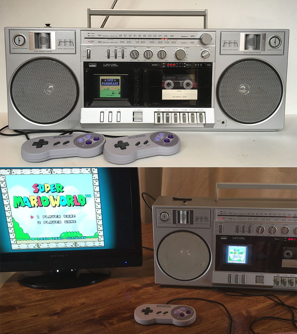 Super NES Boombox