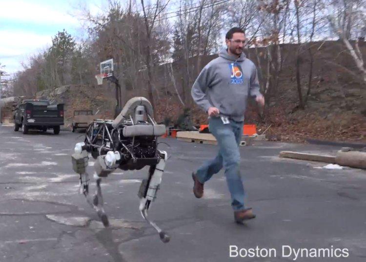 Boston Dynamics Dog