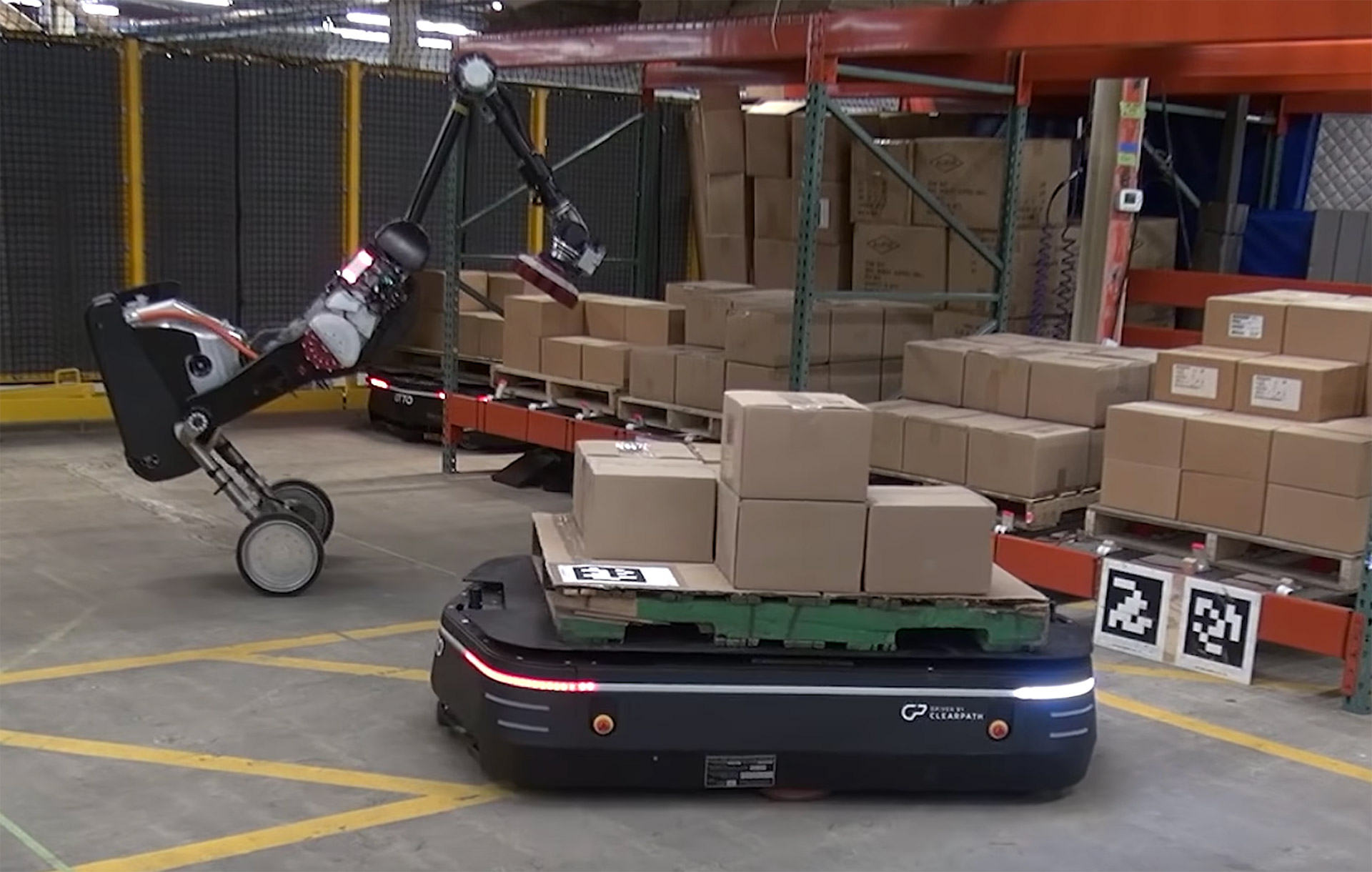 Boston Dynamics Otto Handle Warehouse