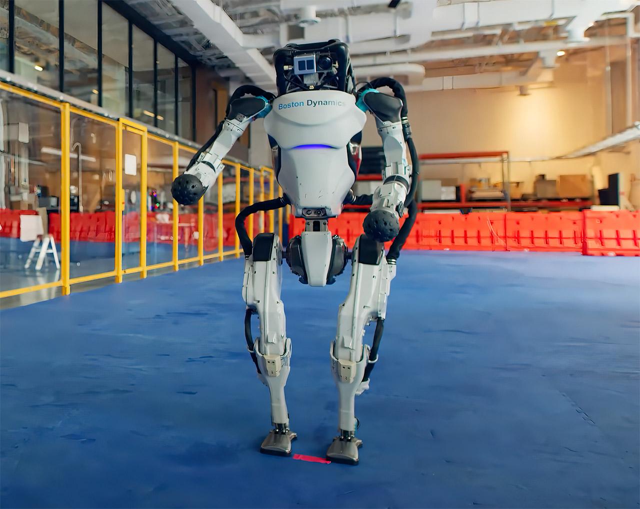 Boston Dynamics Robot Artificial Intelligence Dance