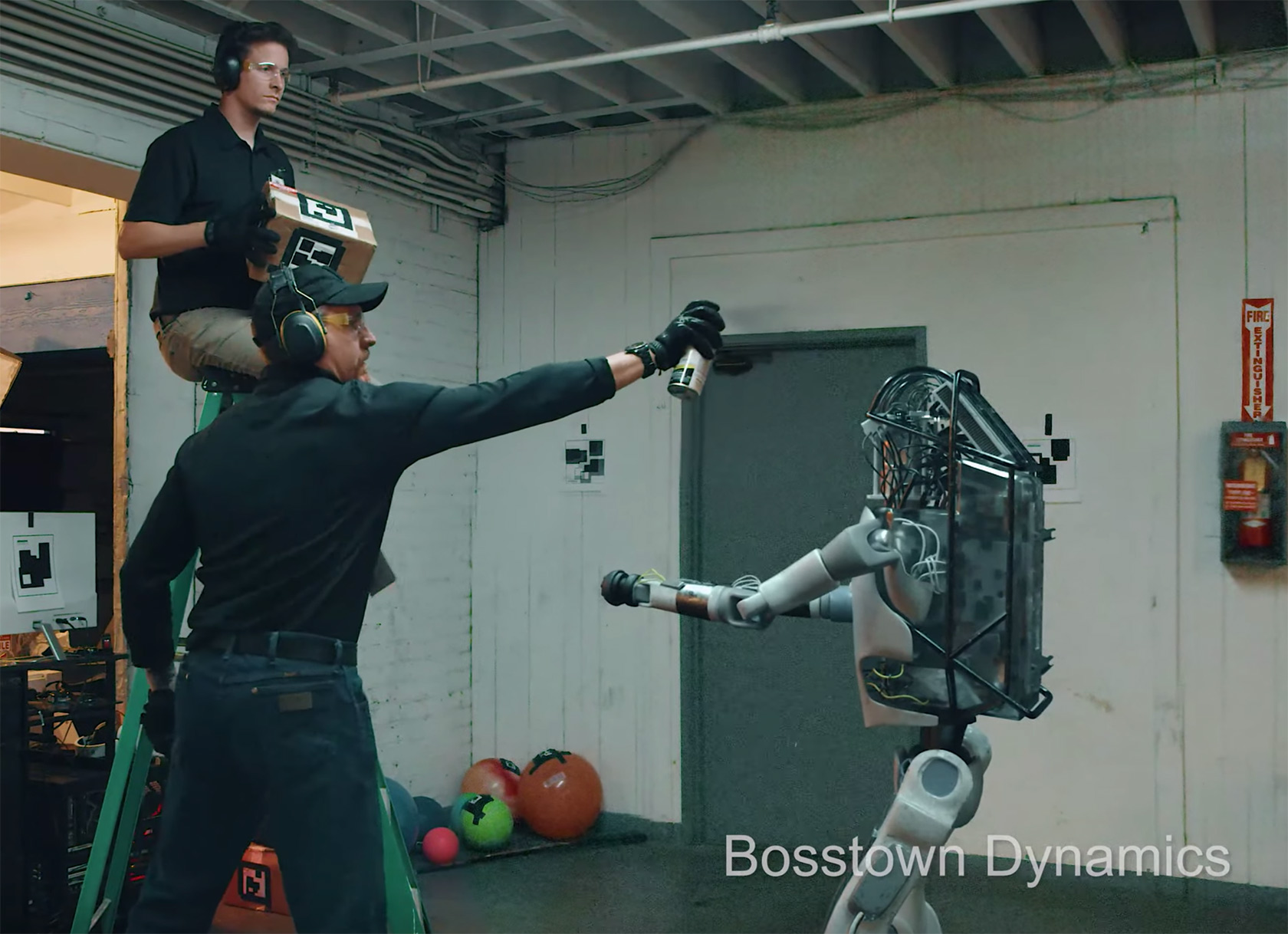 Boston Dynamics Robot Parody