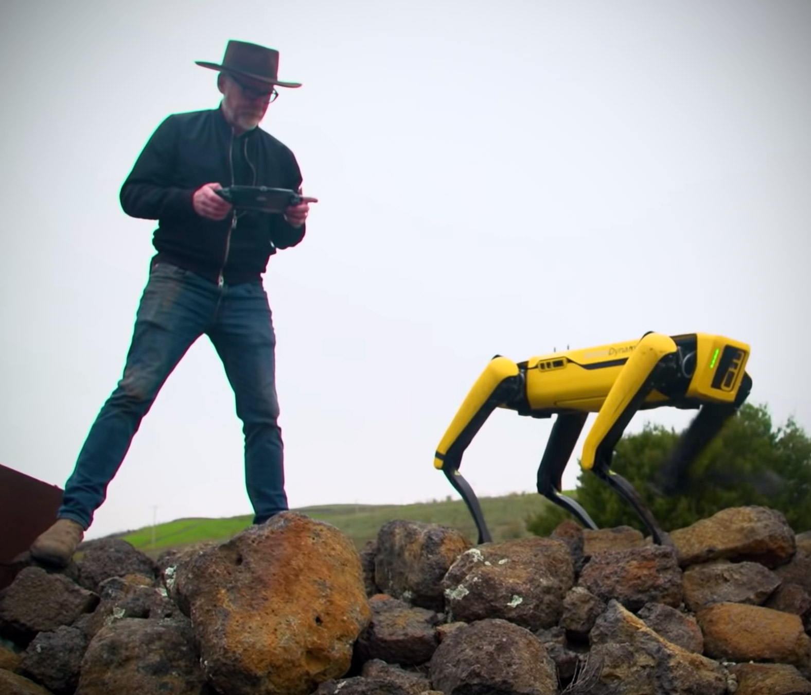 Boston Dynamics Spot Robot Adam Savage