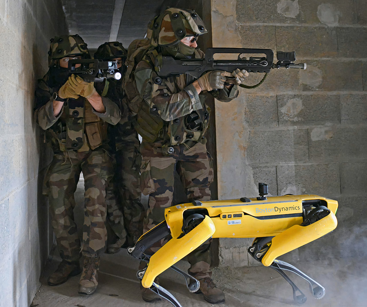Boston Dynamics Spot Robot French Army