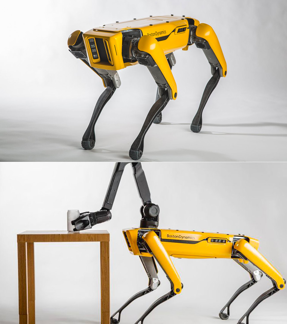 Boston Dynamics SpotMini Commercial Robot