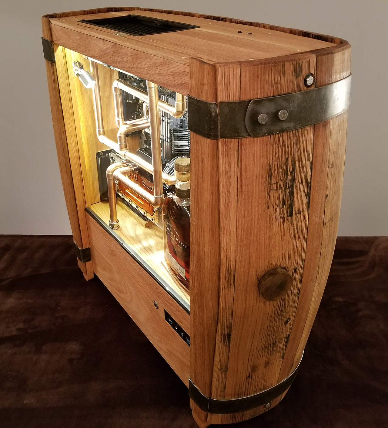 Bourbon Whiskey Gaming Computer