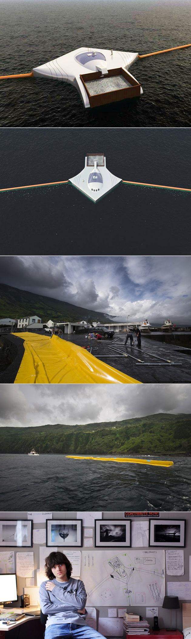 Boyan Slat Ocean Cleanup Array