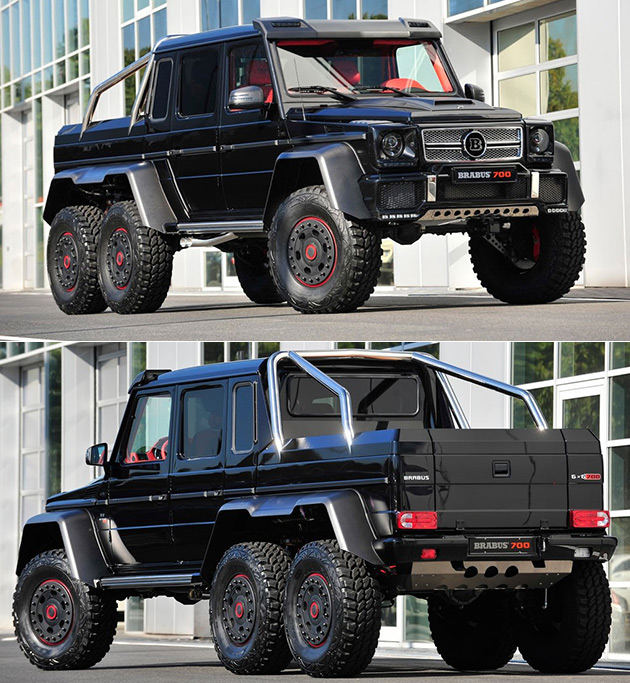 You Could Either Spend 135 Million On A Mansion Or A Brabus B63s