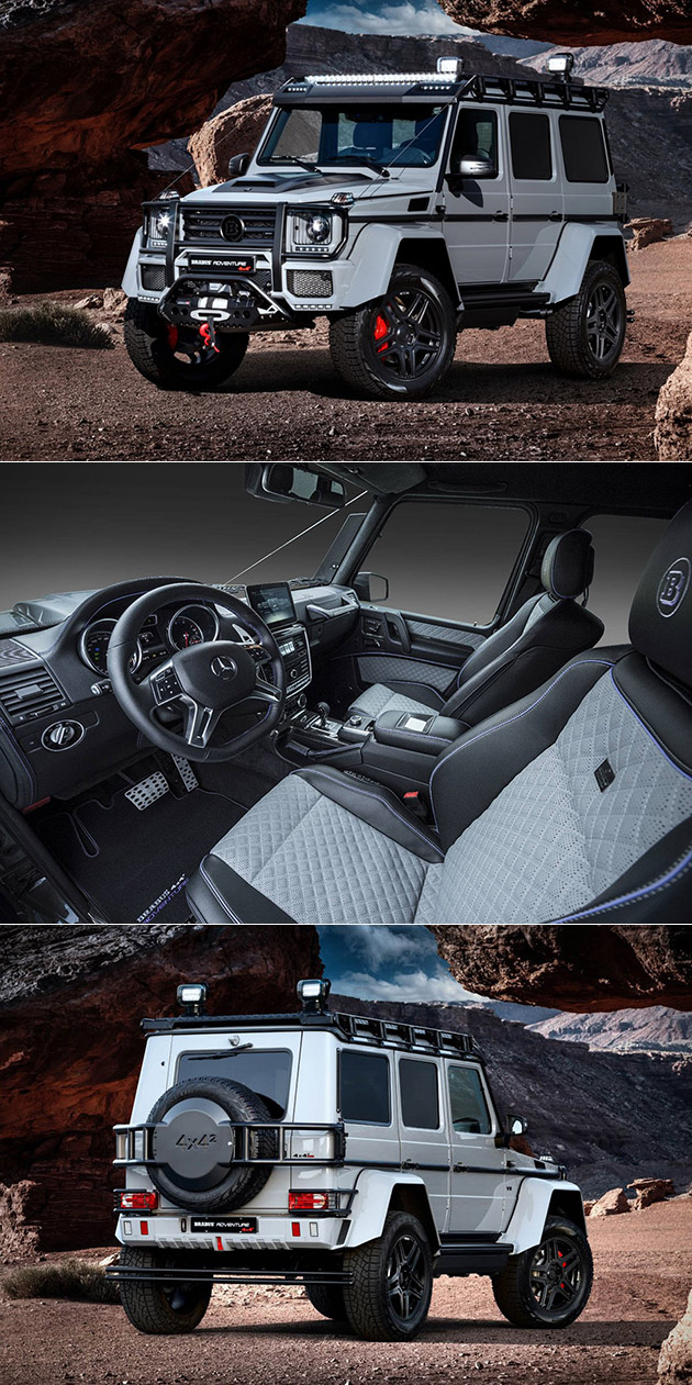 brabus g550 adventure 4x4 squared costs 650k can achieve. Black Bedroom Furniture Sets. Home Design Ideas