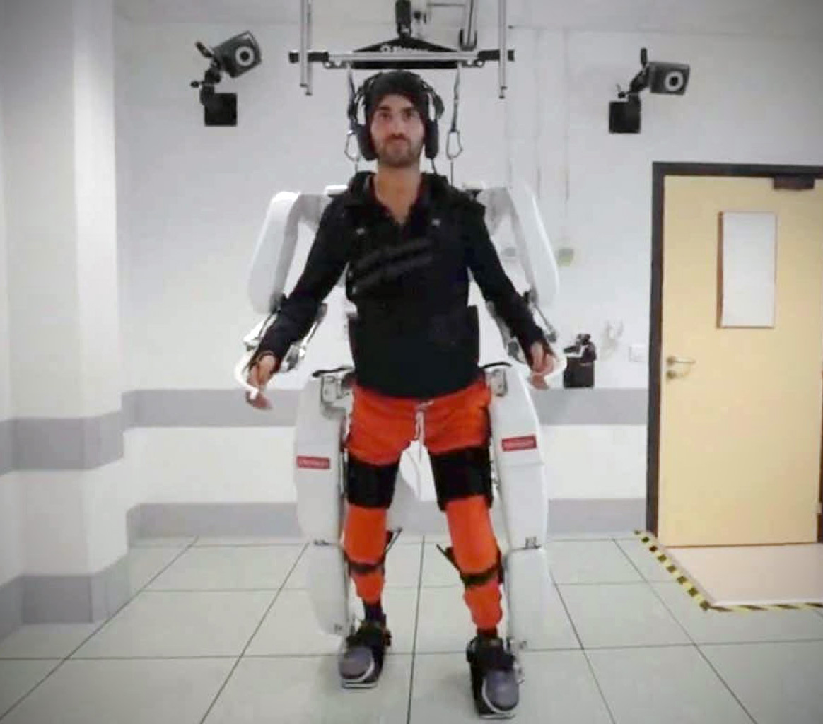 Brain-Controlled Exoskeleton