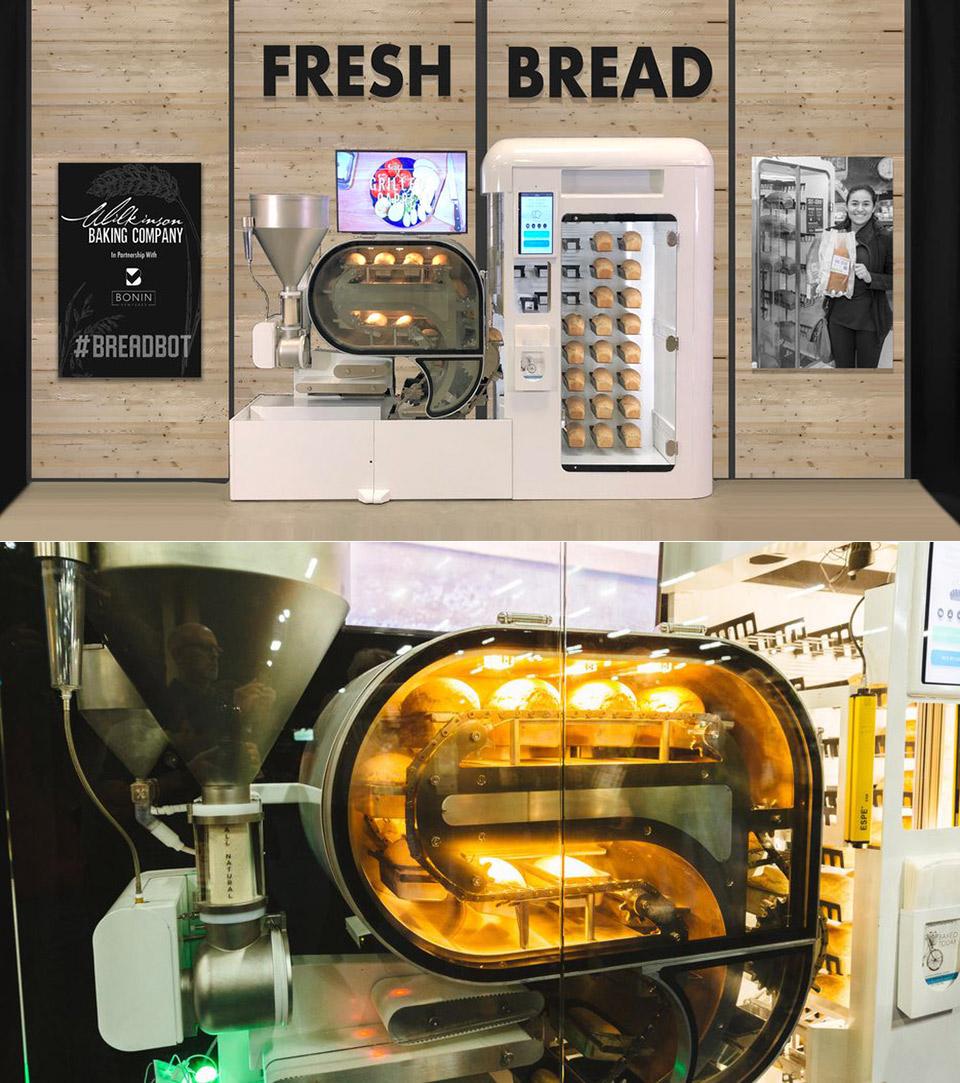 BreadBot Bread Robot