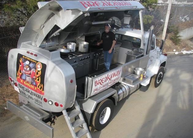 Breakaway X-Grill Truck
