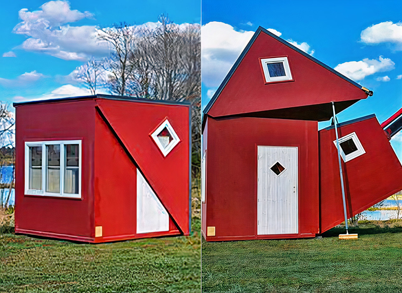 Brette Haus Prefab Origami Tiny House