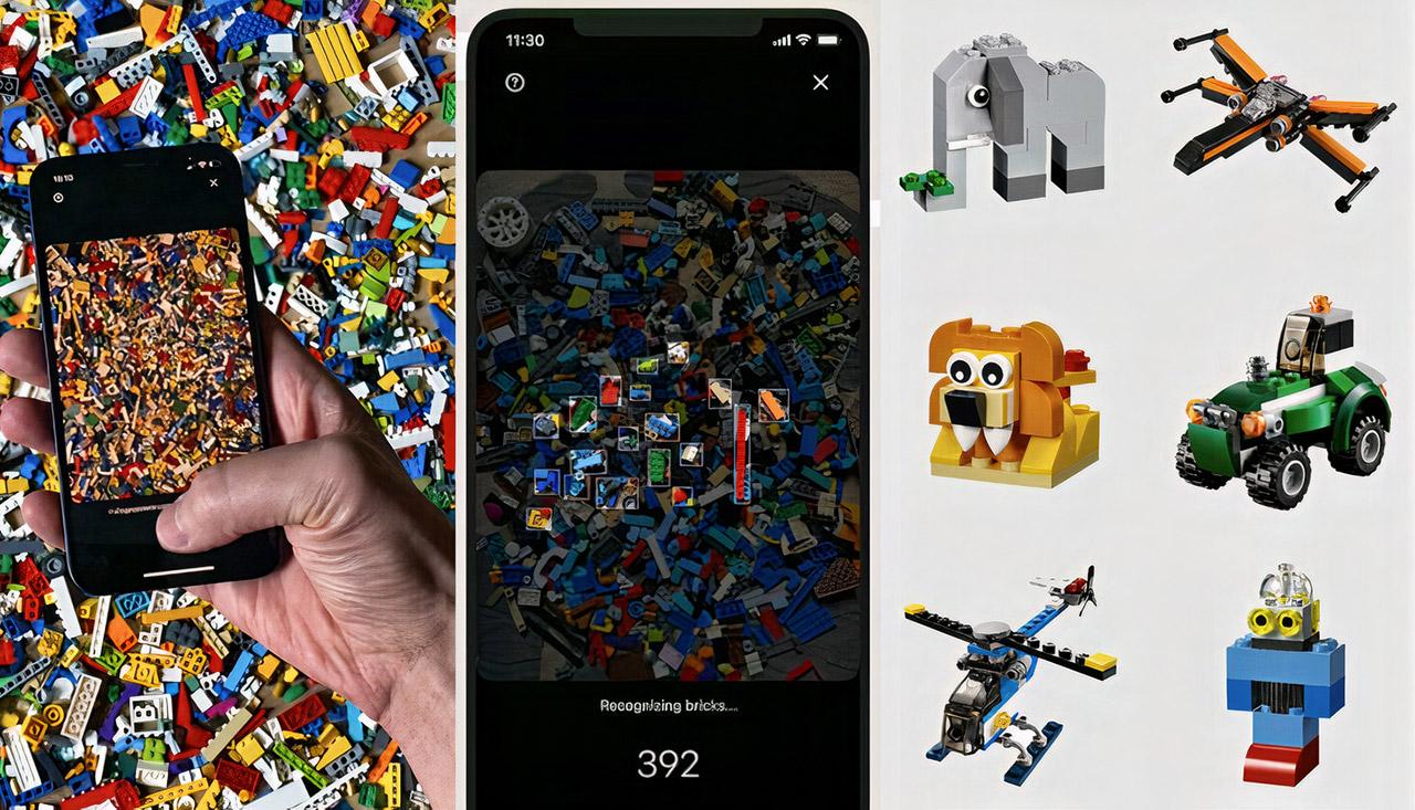 Brickit App iOS LEGO AI Build