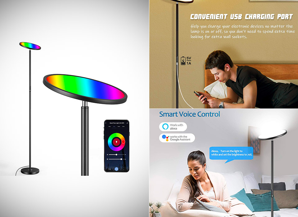Brightever Smart WiFi Color Changing LED Lamp