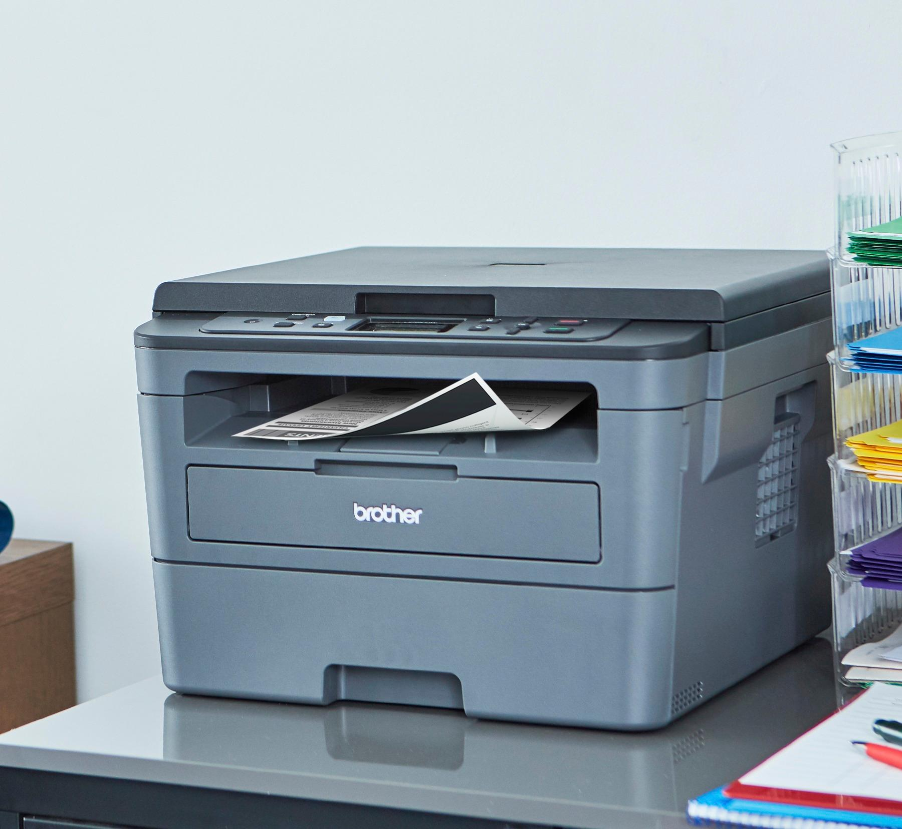 Brother Compact Monochrome Laser Printer HLL2390DW