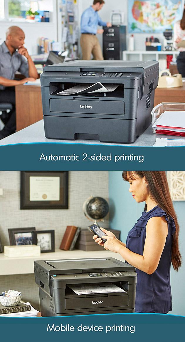 Brother Wireless Laser Printer Monochrome