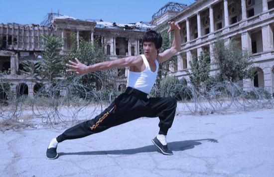 Bruce Lee Lookalike