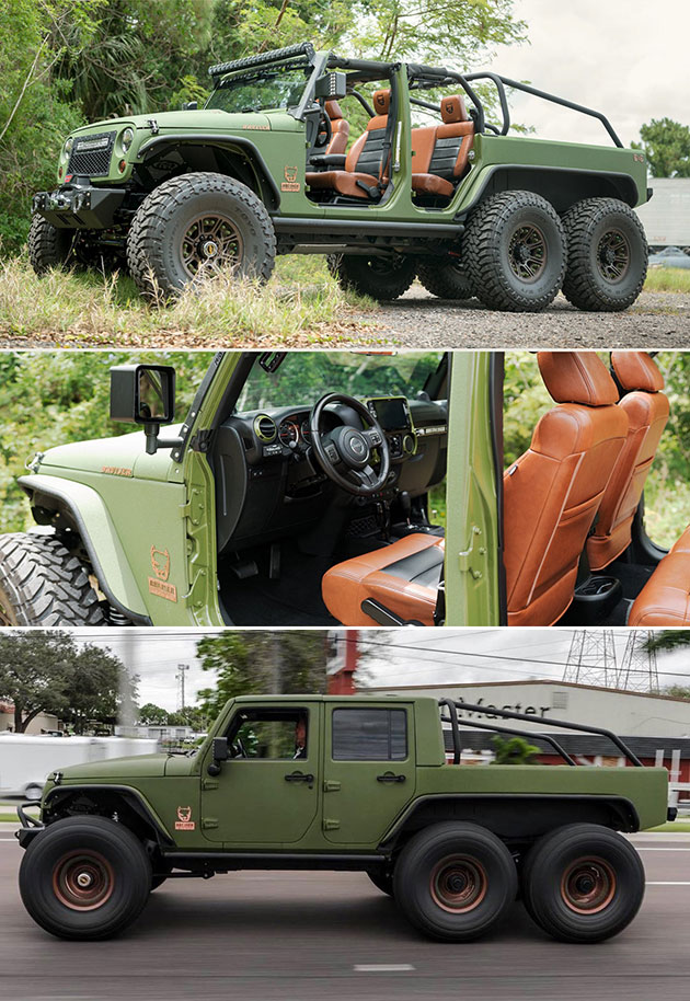Bruiser Conversions 6x6 Jeep