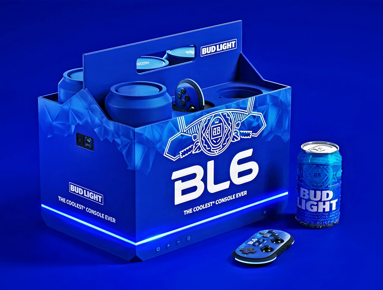 Bud Light BL6 Game Console