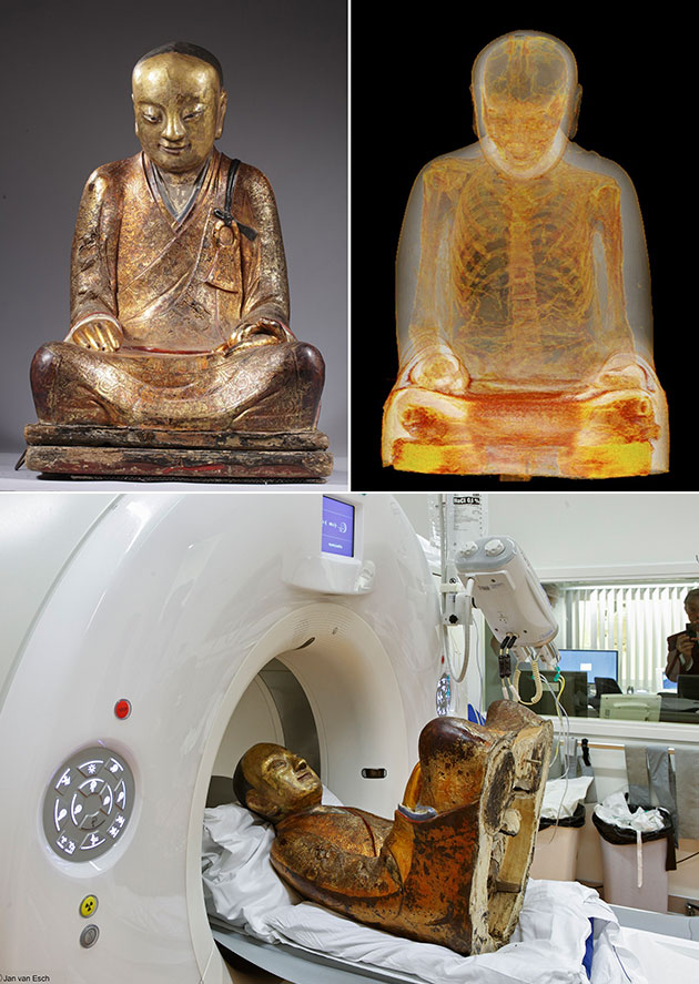 Buddhist Statue Mummified Monk