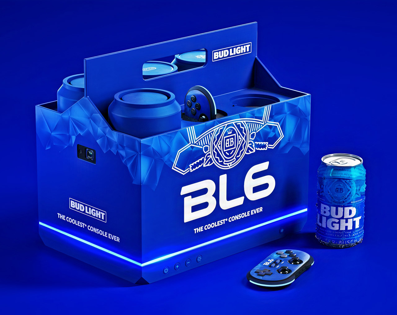 Budweiser BL6 Game Console Hands-On