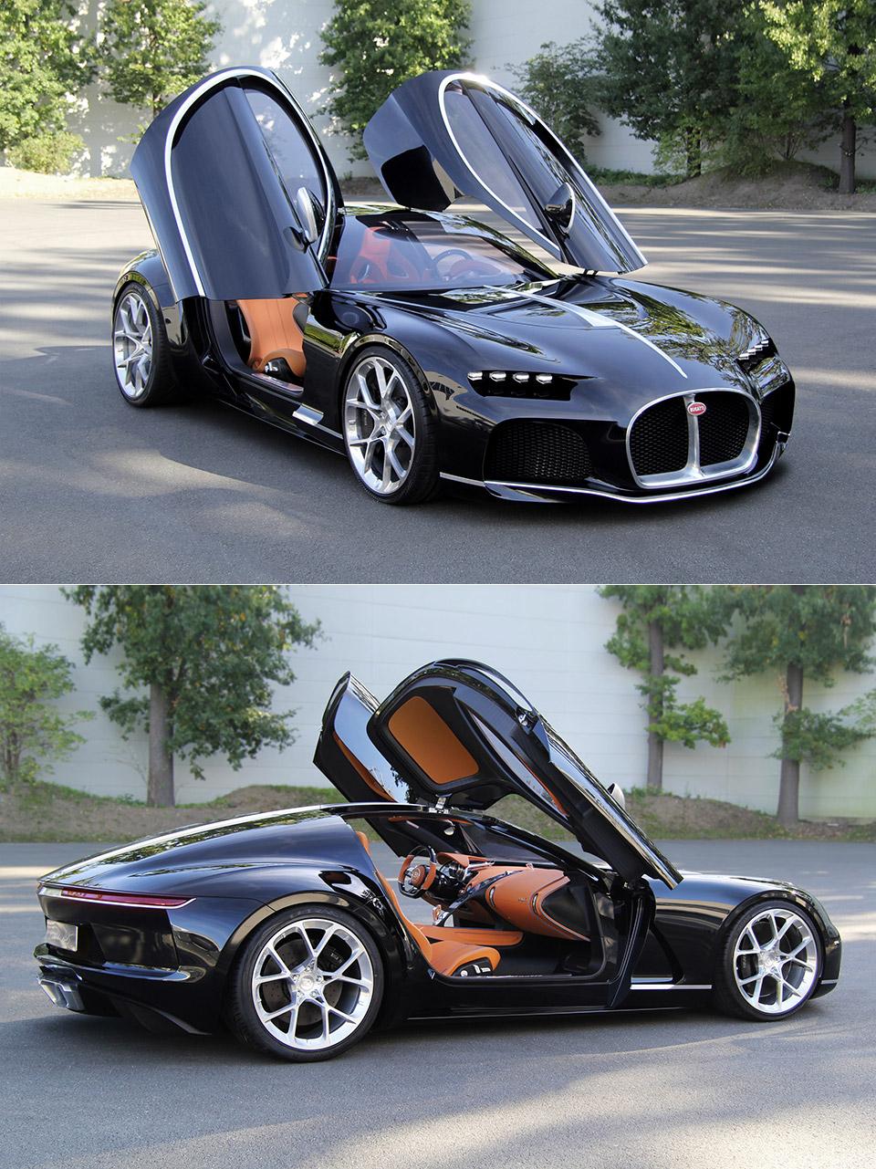 Bugatti Atlantic Coupe Concept