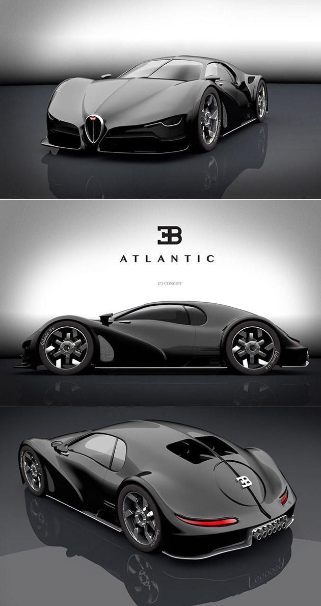 Bugatti Atlantic J73