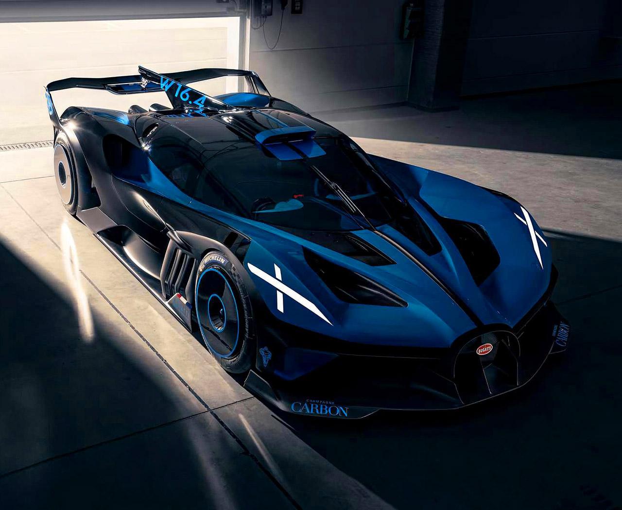 Bugatti Bolide Exhaust