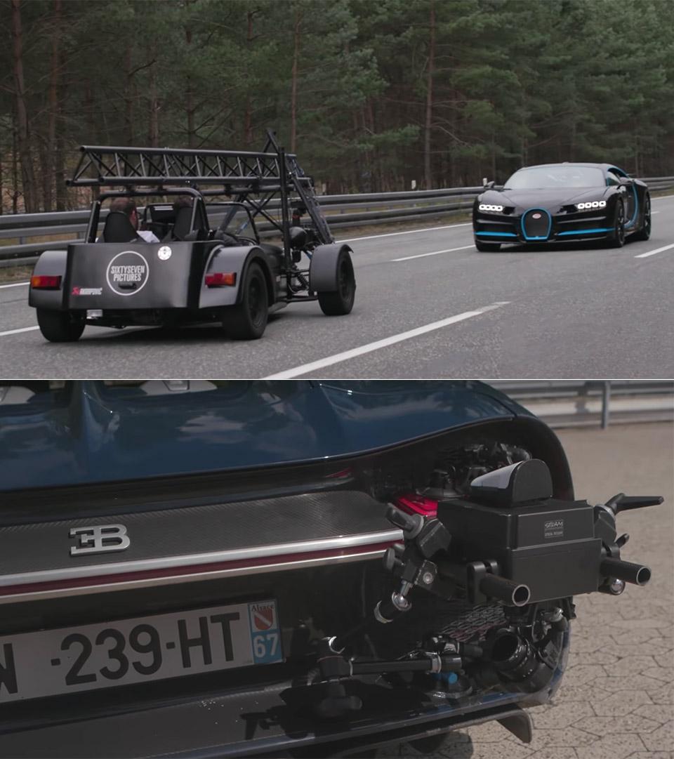 Bugatti Chiron 250MPH