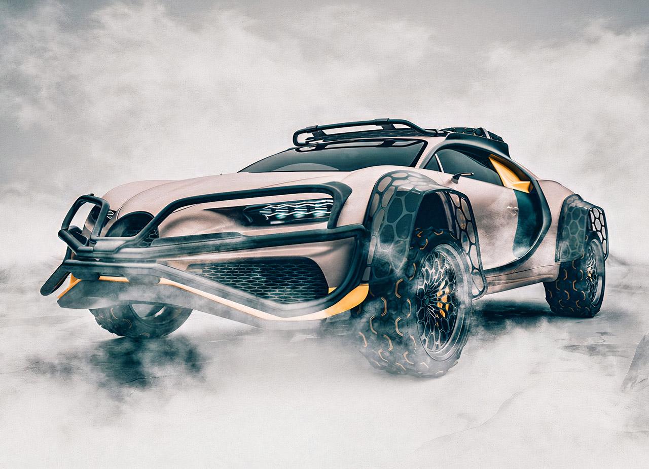 Bugatti Chiron 4x4 Terracross Concept