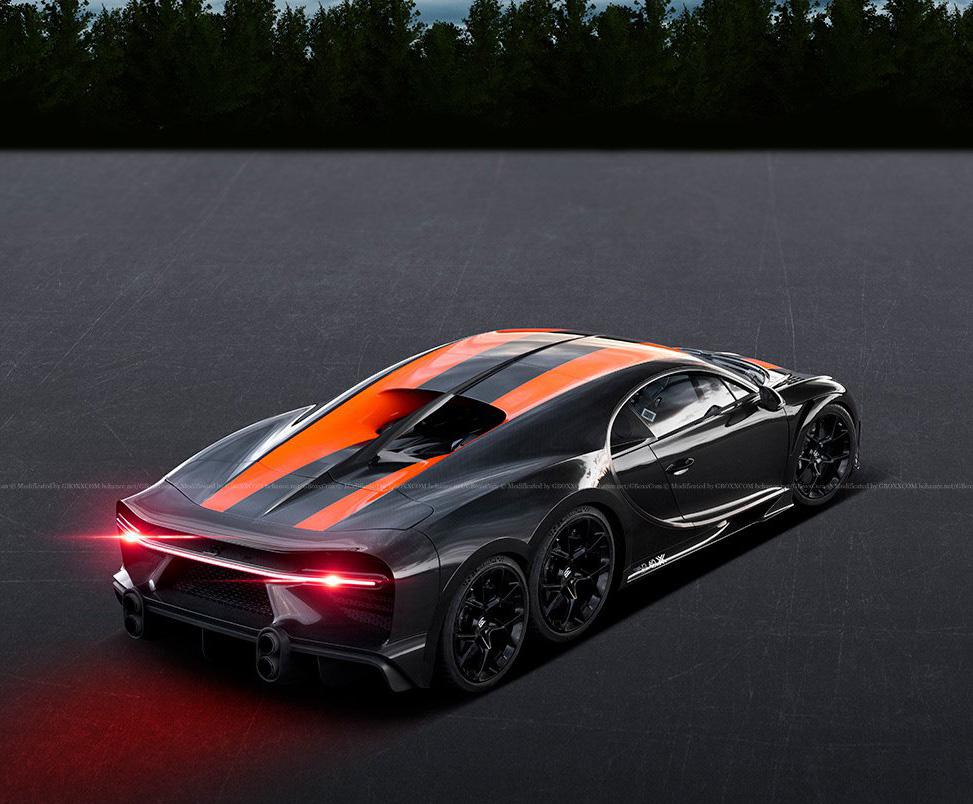 Bugatti Chiron 6x6