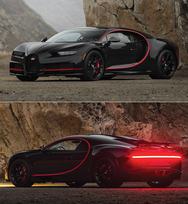 Bugatti Chiron 'Number One' gets 1966 Batmobile-Inspired Makeover
