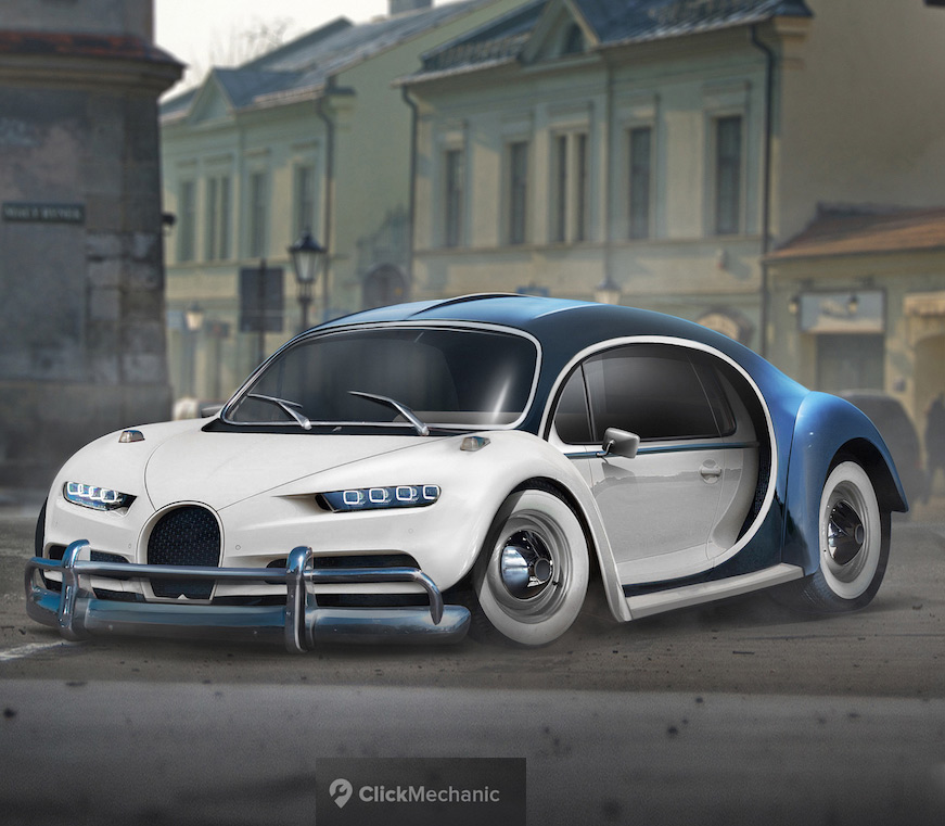 Bugatti Chiron Beetle