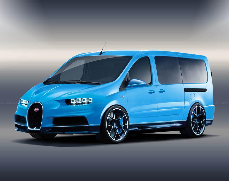 Bugatti Chiron Van