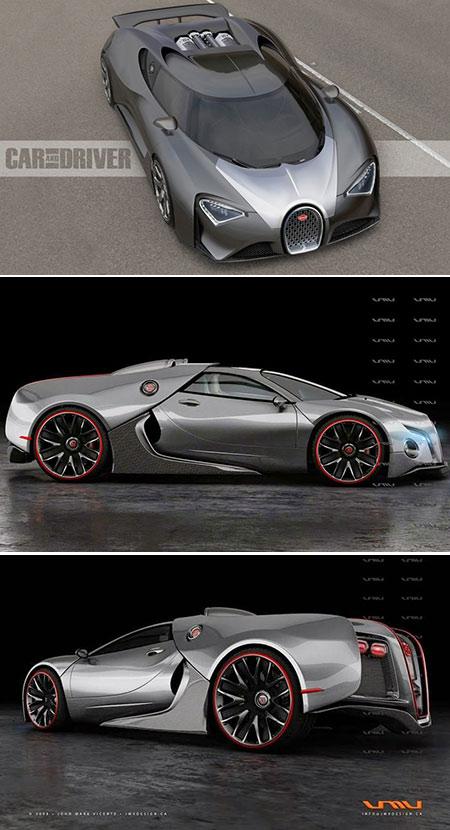 Bugatti Chiron Pictures