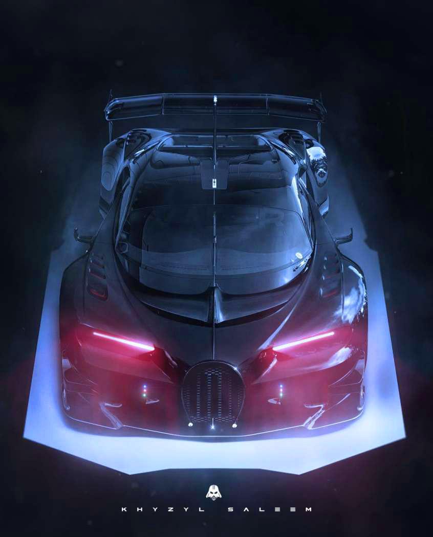Bugatti Darth Vader Edition