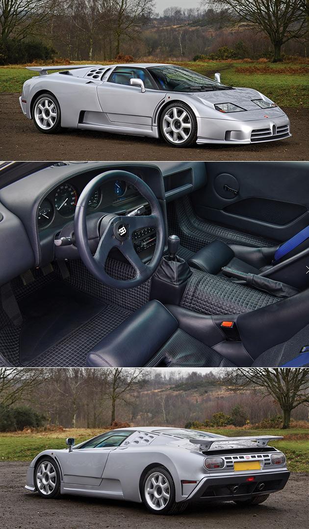 Bugatti EB110 SS Prototype